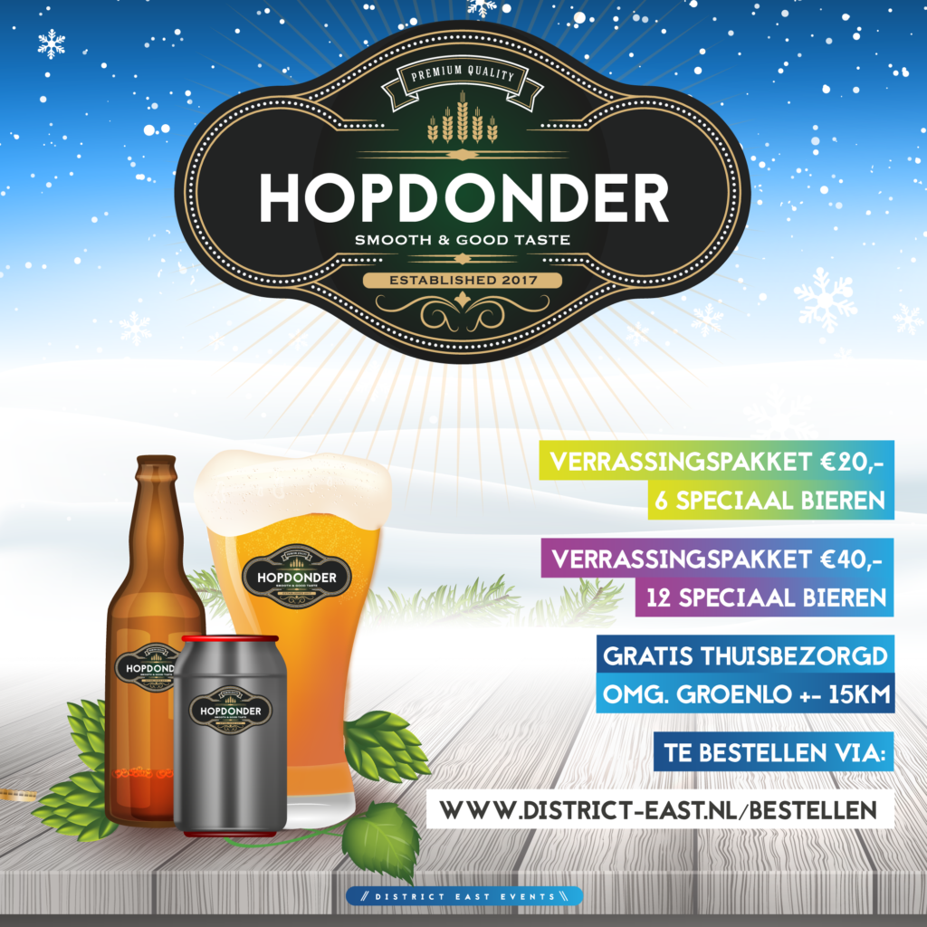 Hopdonder Speciaalbier verrassingspakketten