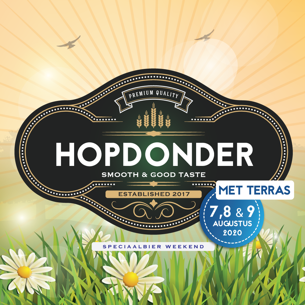 Hopdonder speciaalbier weekend ?